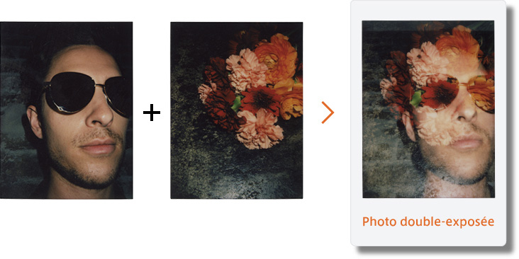 superposer deux photos