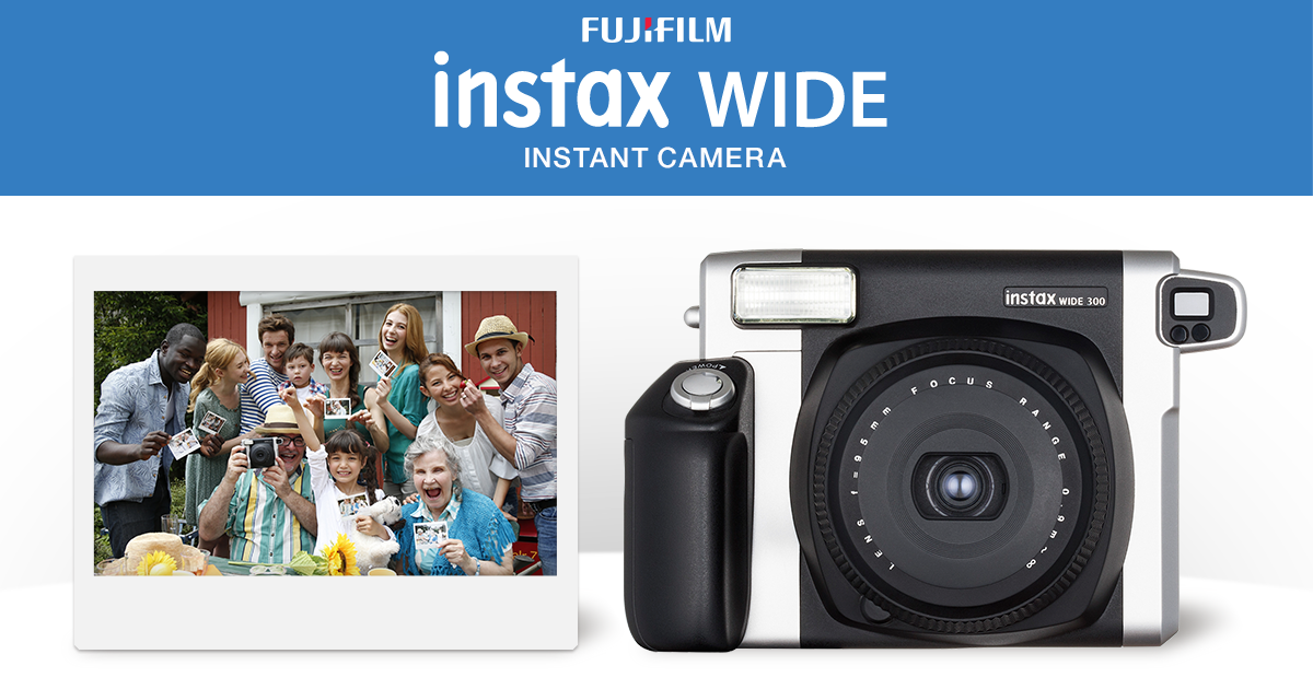 instax wide fujifilm. Black Bedroom Furniture Sets. Home Design Ideas